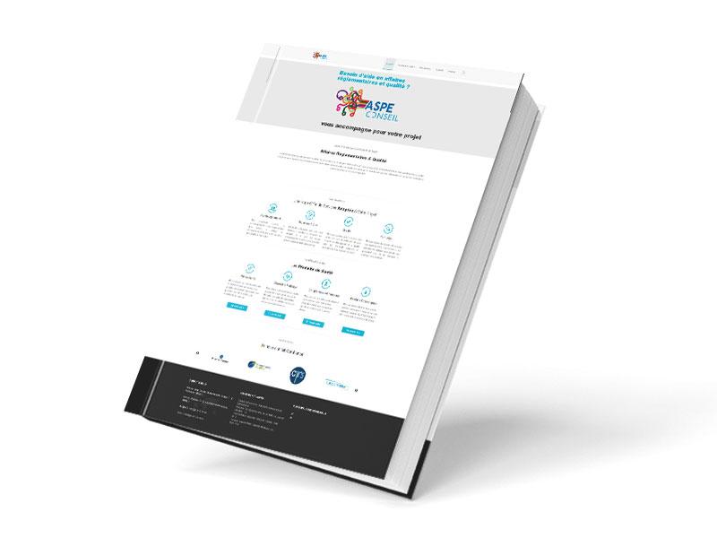 Site internet pour cabinet de conseil en affaires réglementaires