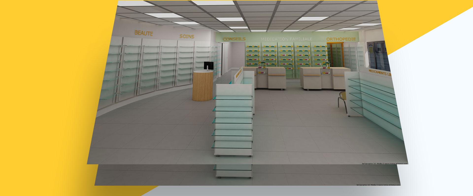 rayonnage pharmacie